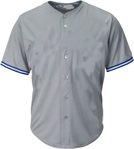 Customized  |  Toronto Jays MLB  Blank Gray  Blank Baseball Jersey - | Design Your Own | No Min