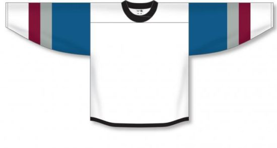 Custom 2016 COLORADO STADIUM SERIES WHITE Jerseys | Design Your Own | No Min
