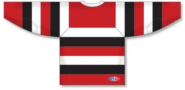 Custom Taper Neck With Underlay Pro Hockey Jerseys | Design Your Own | No Min