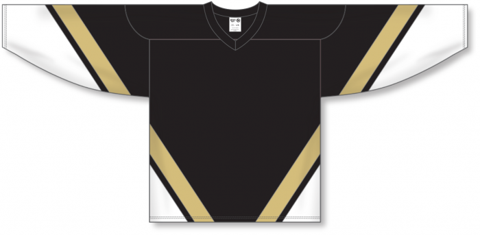 Custom NEW PITTSBURGH Hockey Jerseys  3RD BLACK