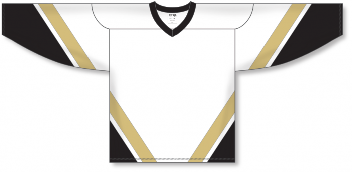 Custom NEW PITTSBURGH 3RD WHITE Hockey Jerseys