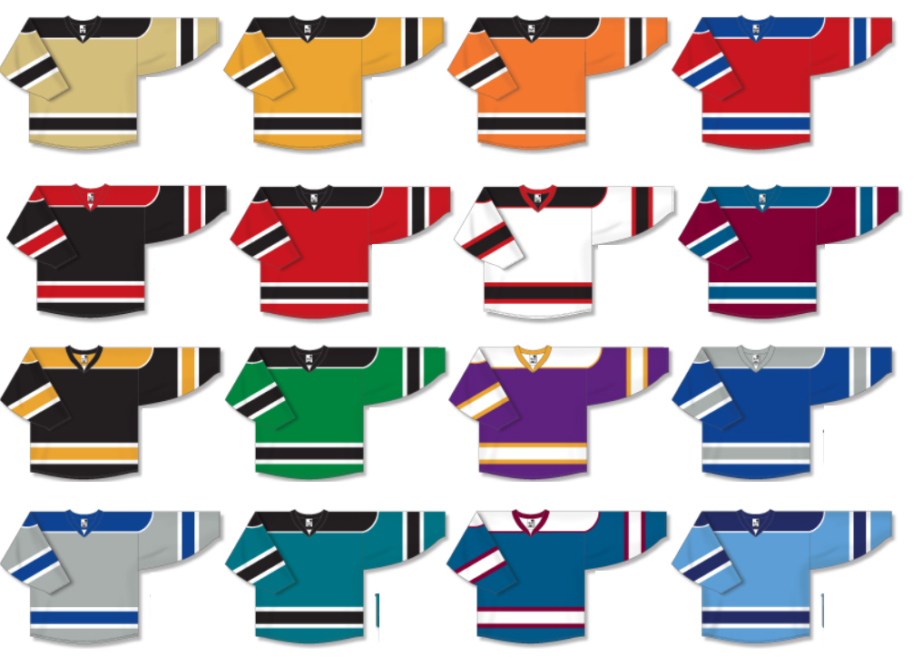 Game Style Team hockey Jerseys | Customize with Logo, Player Name & Number