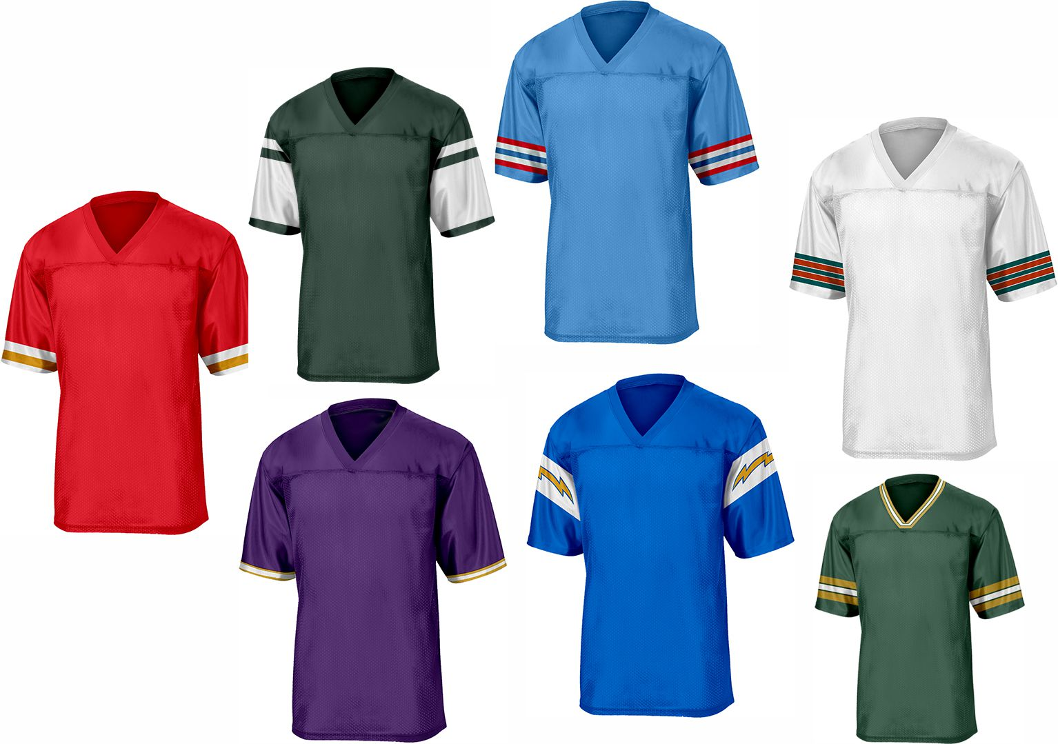 NFL Throwback Football Jerseys -