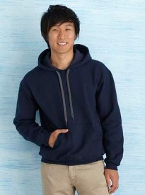 Custom Premium Cotton Ring Spun Fleece Hoody