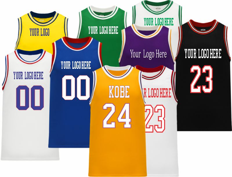 NBA Old School Retro Throwback Vintage Basketball Jersey | Design Your Own |