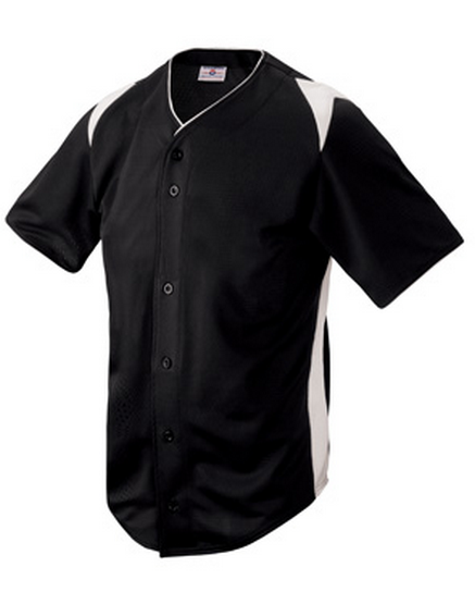 Custom Machete full button Baseball jersey