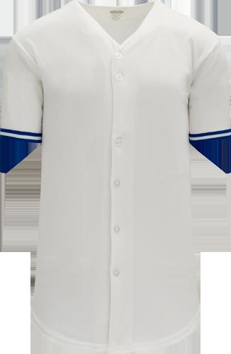 Custom Toronto Jays Blank Baseball Jersey -