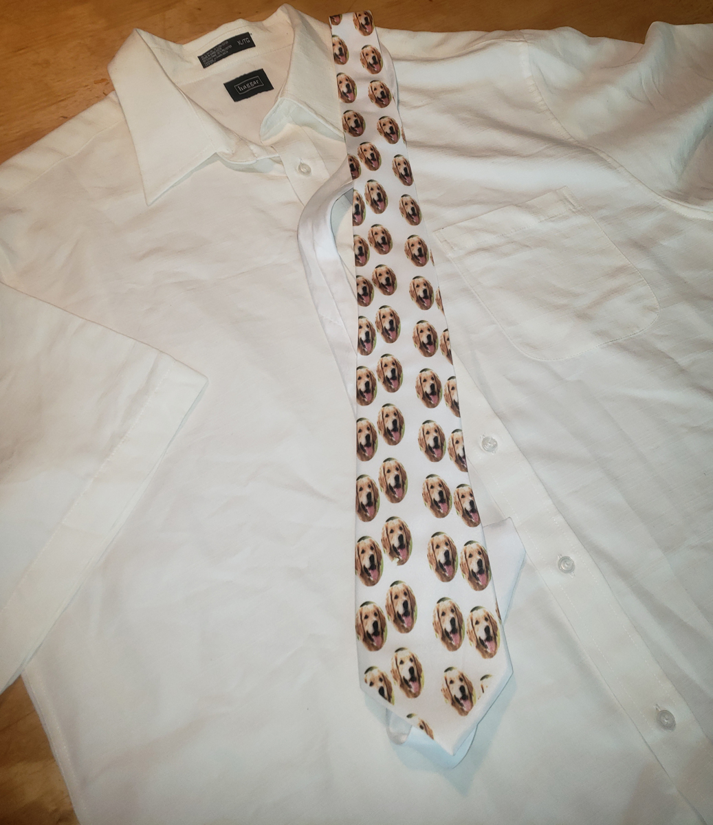 Customized Pet Picture NeckTie | Design Your Own | No Min