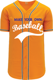 Custom MLB  Blank Baseball Jerseys | Design Your Own | No Min