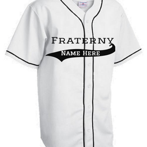 Fraternity Baseball  Jerseys - Greek Jerseys