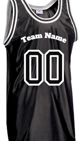 .NBA Old School Style Basketball Jersey