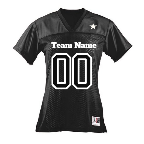 Customized  Ladies Fan Football Jerseys | Design Your Own | No Min