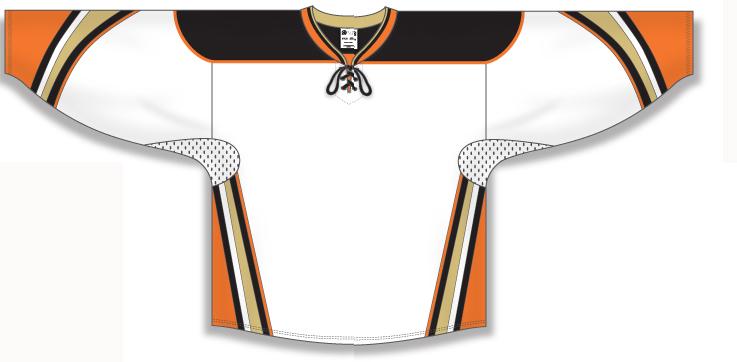 Custom Ducks of Anaheim hockey jersey 539