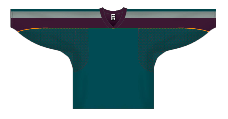 Custom Anaheim hockey jersey