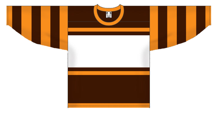 Custom Boston hockey jersey