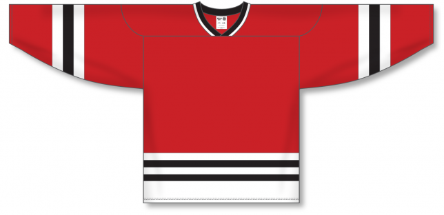 Custom  Pro Hockey Jerseys with Knit Body with Sleeve Stripe| Design Your Own | No Min