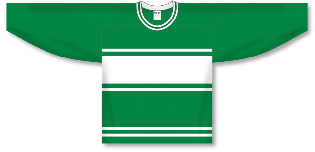 Custom Toronto 3RGREEN hockey jersey