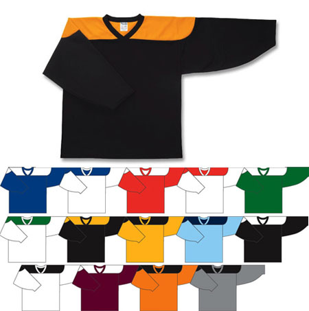Custom *Contrast shoulder hockey jersey