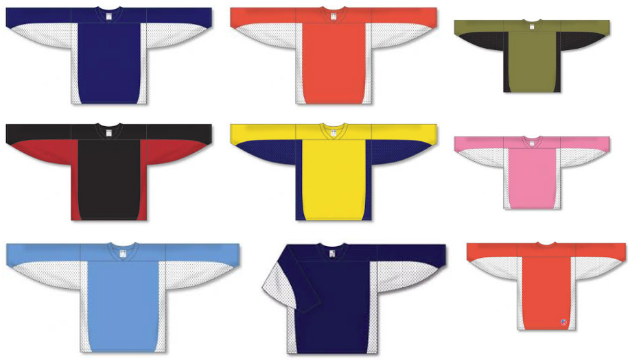 League Style hockey jersey | Customize with Logo, Player Name & Number