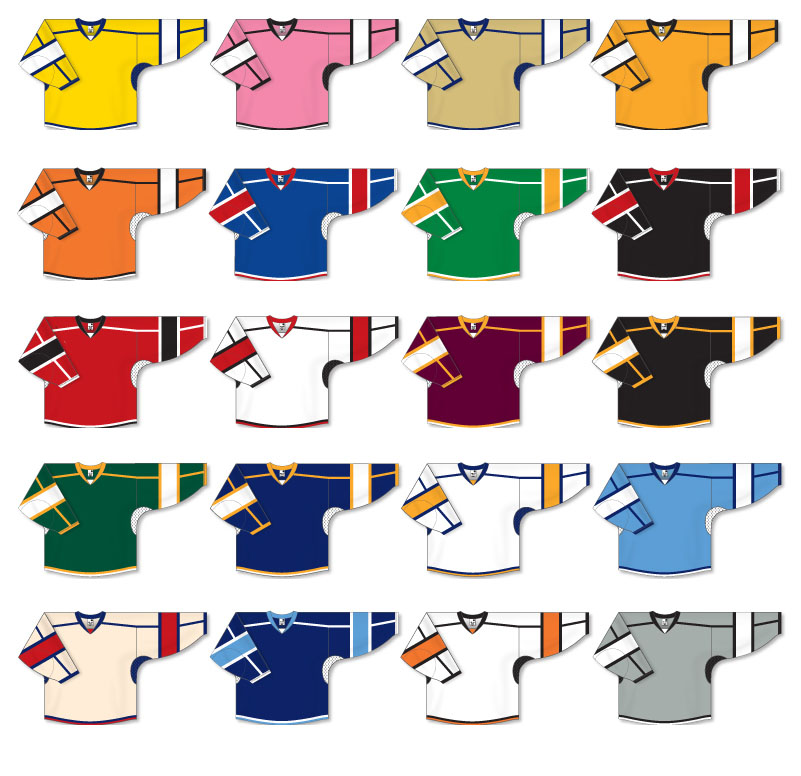 Semi-Pro Team hockey Jerseys