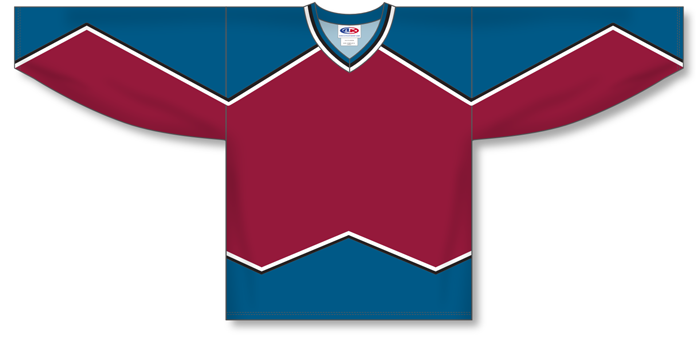 Customized  Colorado Dark hockey jersey COL | Design Your Own | No Min