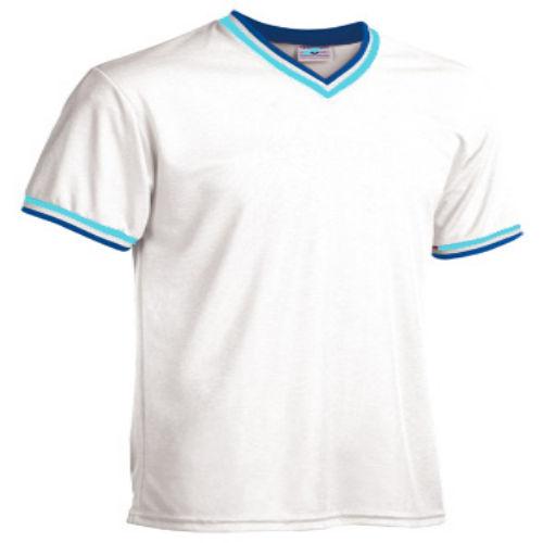 Custom V-NECK JERSEY DRY-FLEX Baseball Jerseys whiteroyalsky ... 8d7a05e69