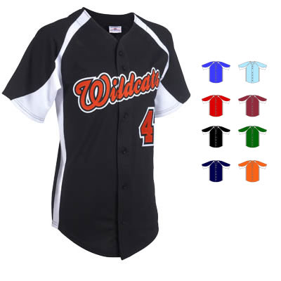 Tackle twill Baseball jersey | Customize with Logo, Player Name & Number