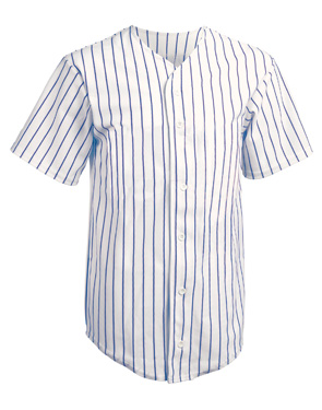 Pinstripe Baseball jersey Customized