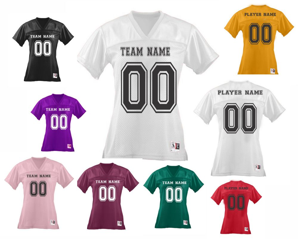 Custom Ladies football jersey | Design Your Own | No Min