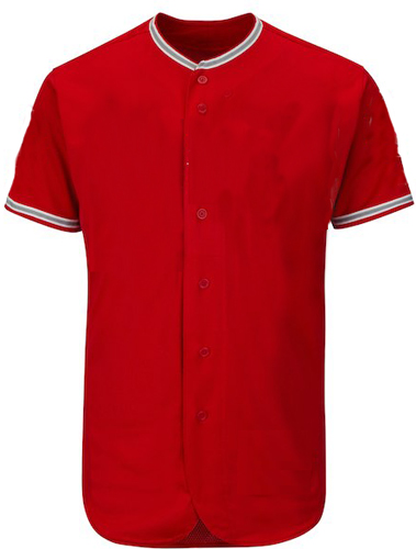 Custom Anaheim Team MLB  Blank  Baseball Jersey - | Design Your Own | No Min