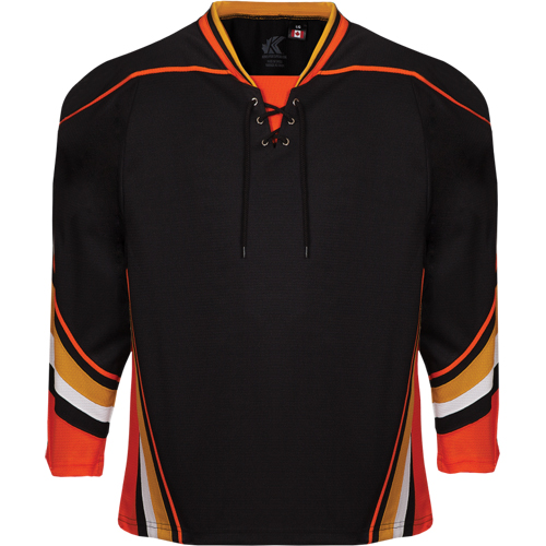 Custom Anaheim hockey jersey 538