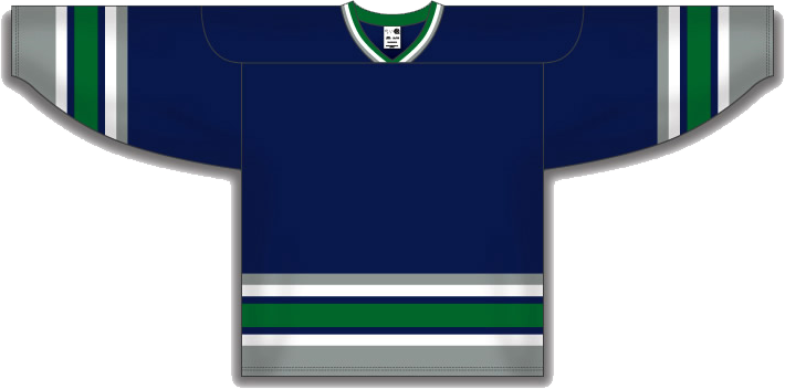 Hartfor Whalers Home  jersey Customized