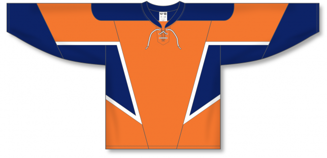 Custom NEW NY ISLANDERS 3RORANGE Pro Hockey Jerseys | Design Your Own | No Min