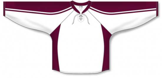 Custom PETERBOROUGH WHITE Pro Hockey Jerseys PET481C | Design Your Own | No Min