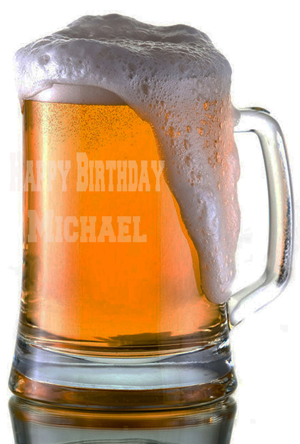 Custom  Happy Birthday Beer Mugs |  Design Yours - Fast Shipping