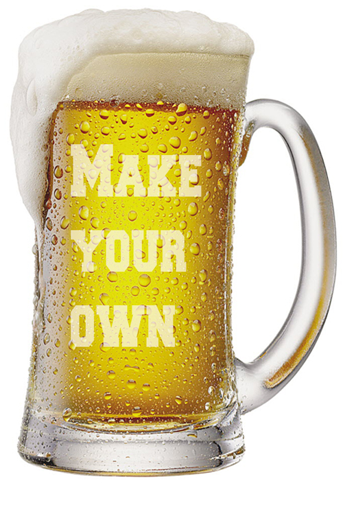 Design Your Own Beer Mugs