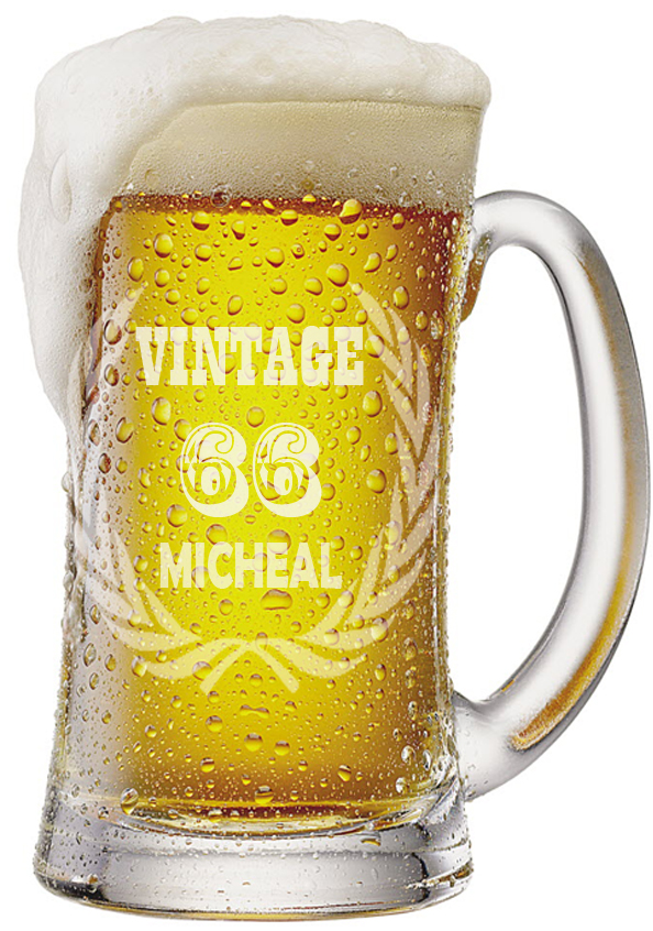 Custom  Vintage Beer Mugs |  Design Yours - Fast Shipping