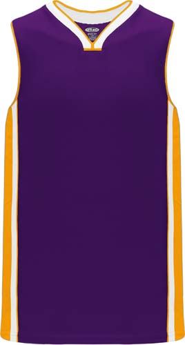 Customized  LA Lakers Basketball Jerseys Gold Purple| Design Your Own |