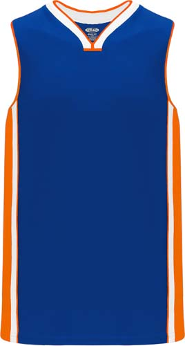 Custom NY Knicks Basketball Jersey Blue |  Design Yours - Fast Shipping