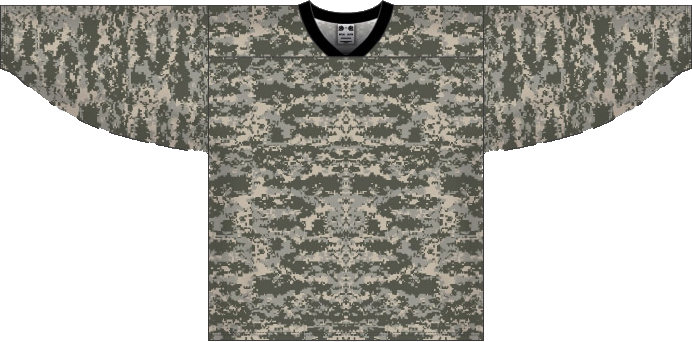 Custom Desert Camouflage hockey jersey CAM | Design Your Own | No Min
