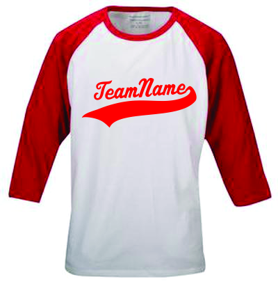 Custom Youth Raglan3/4 Length Pro Team Baseball Jersey | Design Your Own | No Min