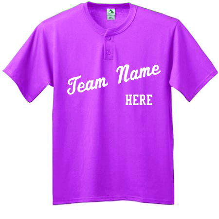 Custom Two Button Baseball Jerseys