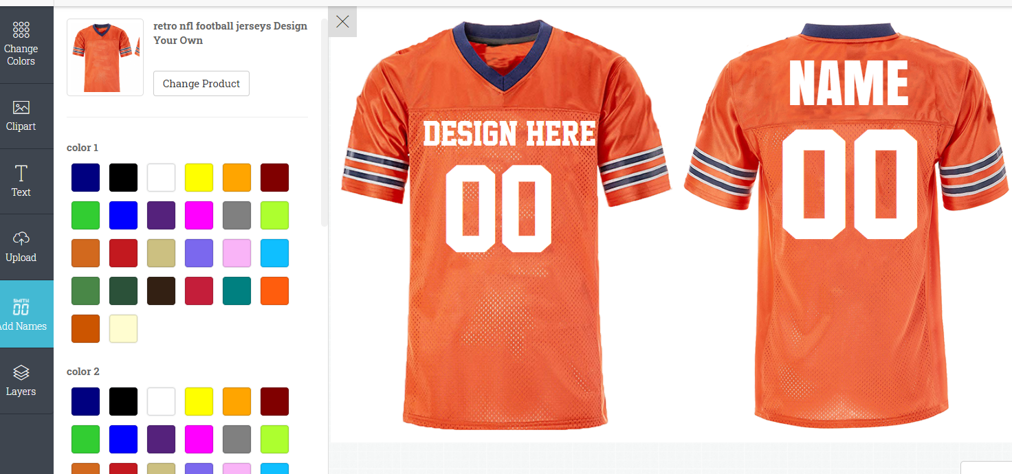 Custom Football Jerseys |  football jersey | Design Your Own | No Min