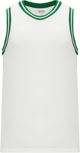 Custom NBA Old School white/green Boston Celtic Retro Throwback Vintage Basketball Jersey | Design Your Own |