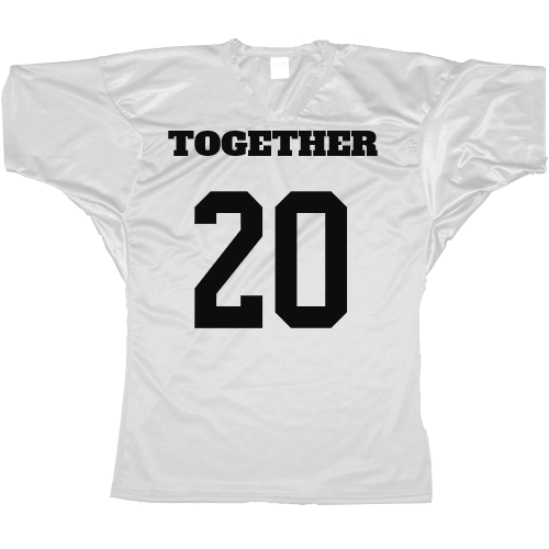 Together Since Football jersey