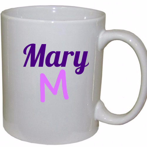 Name  Personalized Coffee Mug 11 oz.