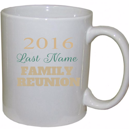 Family Reunion Coffee Mugs