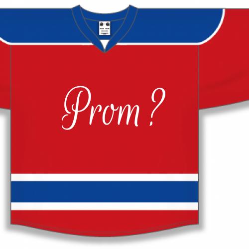 Prom Hockey Jerseys