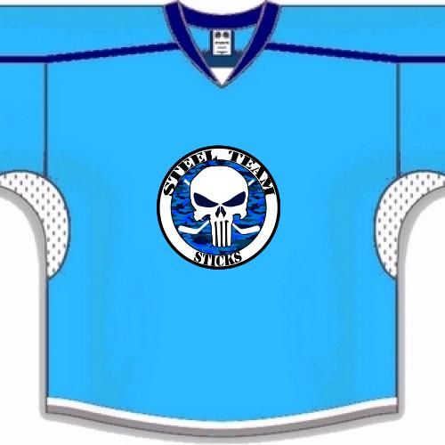 Steel Team Hockey Jerseys