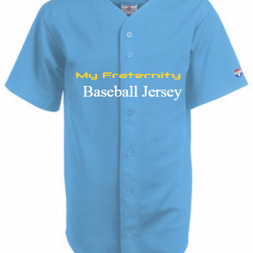Fraternity Softball jerseys